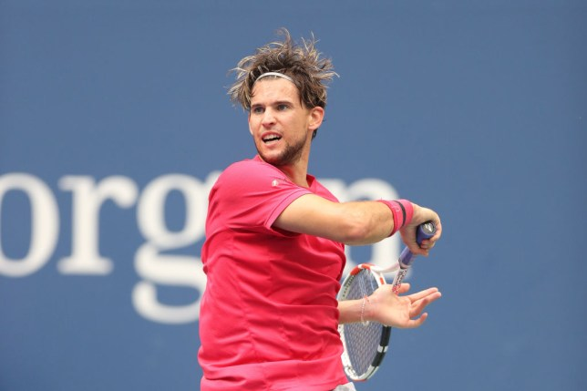 Dominic Thiem of Austria returns the ball during his Men's Singles final match against and Alexander Zverev of Germany on Day Fourteen of the 2020 US Open at the USTA Billie Jean King National Tennis Center on September 13, 2020 in the Queens borough of New York City.
