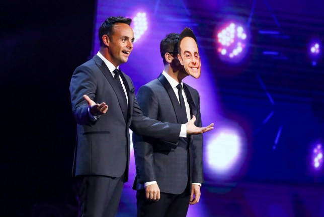 Ant and Dec on Britain's Got Talent 2020