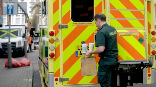 Ambulance (Picture: BBC)