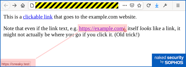Phishing without links-Naked Security when phishers bring along their own web pages-