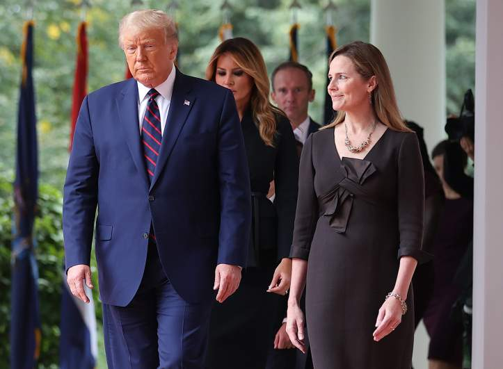 Donald Trump Amy Coney Barrett