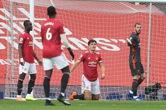 Harry Maguire, in particular, struggled during Man Utd's 6-1 defeat against Tottenham
