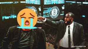 Kendrick Perkins, Kevin Durant, Nets