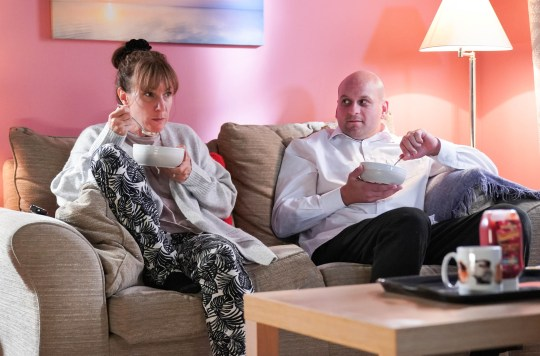 Stuart and Rainie EastEnders