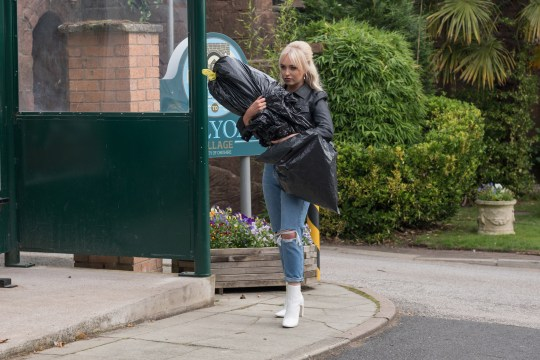 Theresa in Hollyoaks
