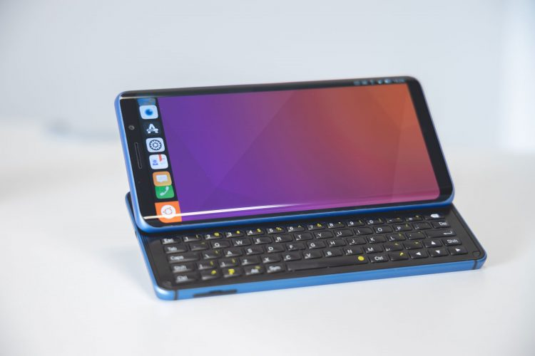 Fxtec's Pro1-X is an Ubuntu Phone with Physical QWERTY Keyboard