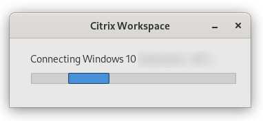 Connecting to Citrix VM