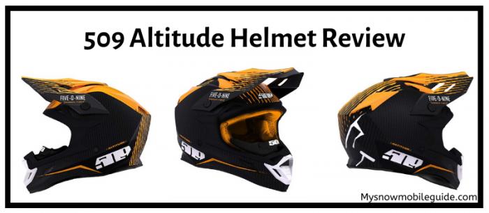 509 Snowmobile helmet
