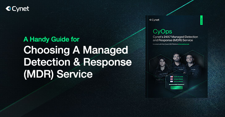 A Handy Guide for Choosing a Managed Detection & Response (MDR) Service