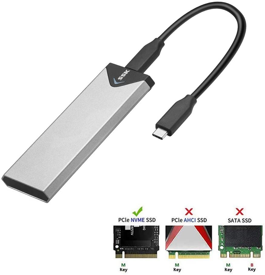 Best USB to NVMe adapter, Linux Hint