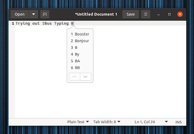 ibus-typing-booster