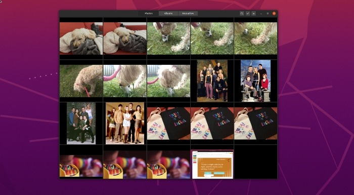 How to use Gnome Photos to organise and share your photos