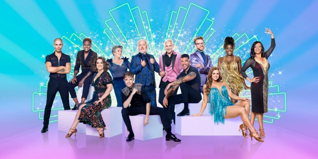 WARNING: Embargoed for publication until 20:00:00 on 16/10/2020 - Programme Name: Strictly Come Dancing - TX: 17/10/2020 - Episode: Launch show (No. n/a) - Picture Shows: Strictly Come Dancing 2020 celebrities EMBARGOED until 2000hrs Friday 16th October 2020 Max George, Nicola Adams, Jacqui Smith, Caroline Quentin, HRVY, Bill Bailey, Jamie Laing, Jason Bell, JJ Chalmers, Maisie Smith, Clara Amfo, Ranvir Singh - (C) BBC - Photographer: Ray Burmiston