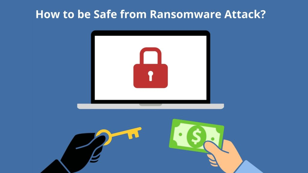How can you be safe from a ransom attack?