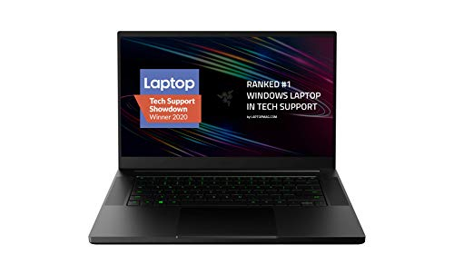 Razer Blade 15 Gaming Laptop 2020: Intel Core i7-10750H 6-Core, NVIDIA GeForce RTX 2060, 15.6