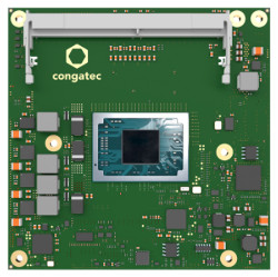 Congatec reveals Ryzen V2000 module and industrial Tiger Lake variants