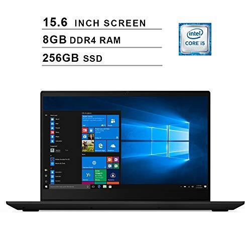 2019 Latest Lenovo IdeaPad S340 Notebook 15.6 (Intel Quad-Core i5-8265U up to 3.9 GHz, Intel UHD graphics 620, 8GB DDR4 RAM, 256GB M.2 SSD, WiFi, Bluetooth, HDMI, Windows 10) (black)