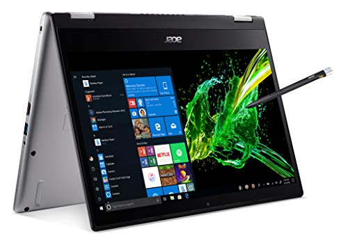 Acer Spin 3 Notebook with hinged cap, 14