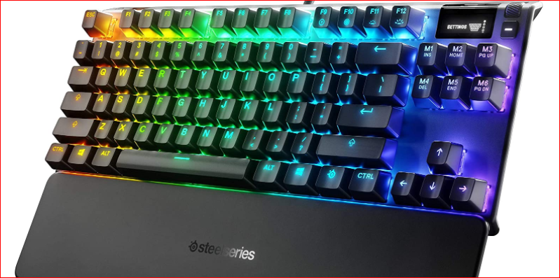Apex Pro TKL Steel Mechanical Keyboard