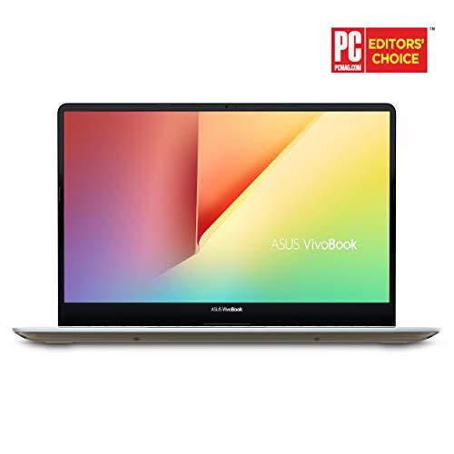 Asus Vivobook S15 15.6 slim and portable notebook, Intel Core i5-8250U processor (up to 3.4 GHz), 8GB DDR4, 256GB SSD, NanoEdge bracket, Windows 10 - S530UA-DB51-IG, Icicle Gold