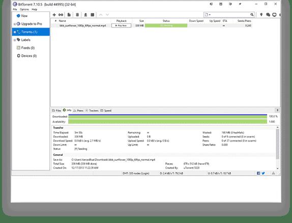 BitTorrent for Mac