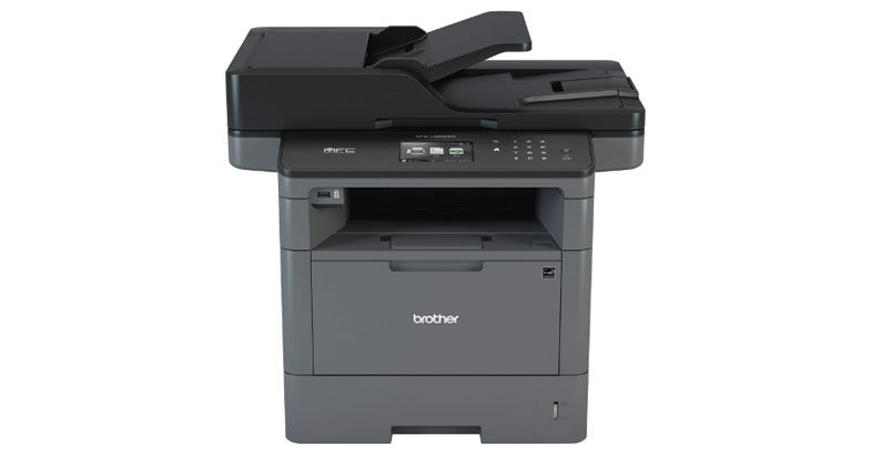 Brother MFC-L5800DW - the best all-in-one black and white laser printer