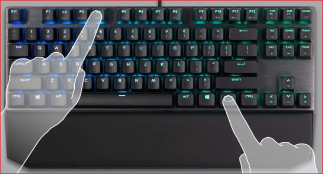 Cool Master MK730 Mechanical Keyboard for Oxygen-Free Games