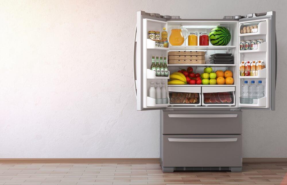 French fridge