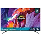 Hisense 50 Class H8 Quantum Series Android 4K ULED Smart TV with voice remote control (5G, 2020 model)