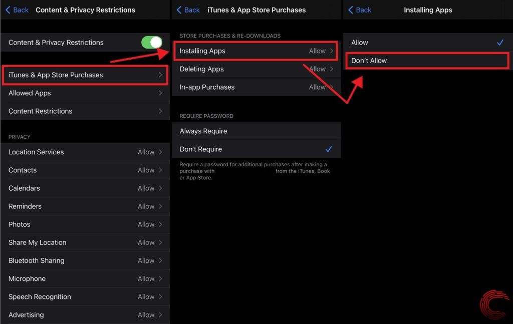 How can I block the YouTube playback time on my iPhone and iPad?
