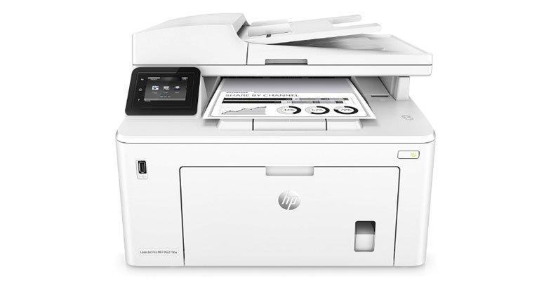 HP LaserJet Pro M227fdw - the best monochrome laser printer in one