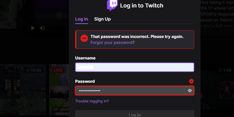 [All Fixes] Twitch Reset Password Not Working