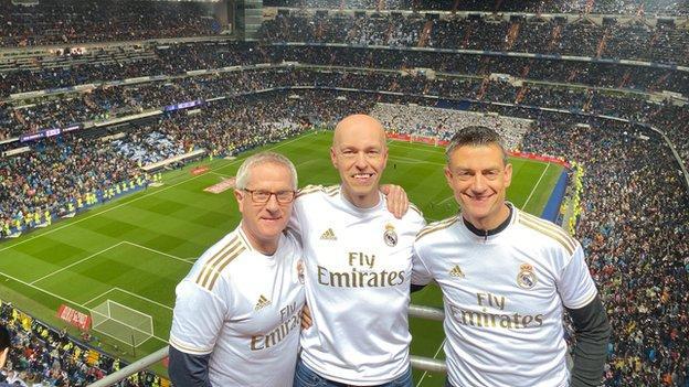 Mark Atwood, Ian Tetsill and John Prince (all 51)