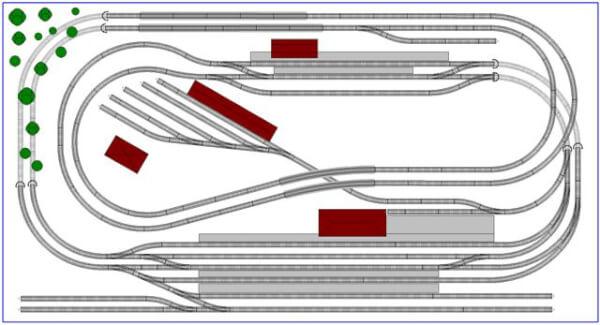 N Railway design