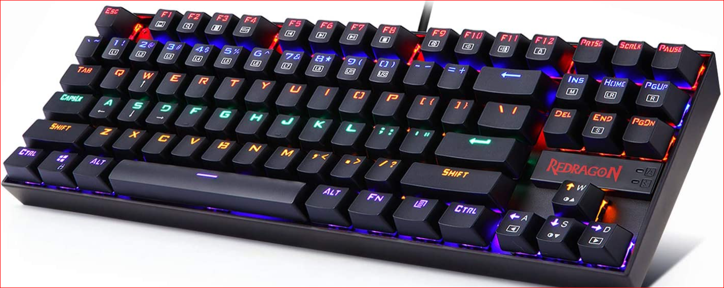 Redragon K552 Mechanical RGB LED game keyboard