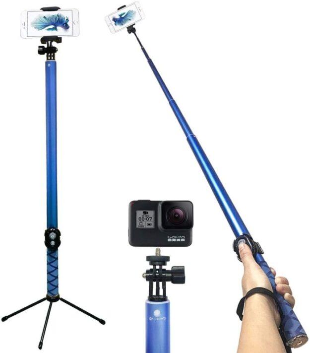 The longest selfish stick