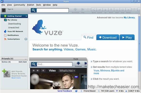 Vuze torrent client for windows