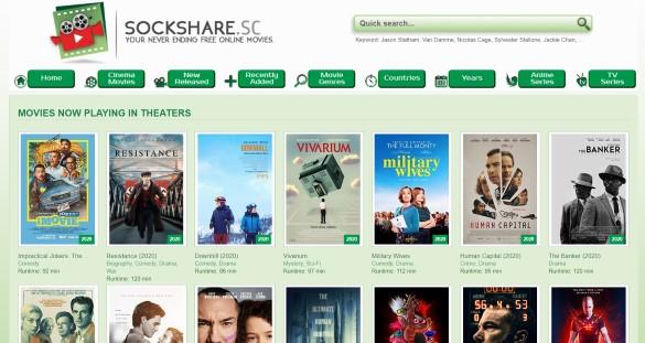 10 Best Sites Like SockShare for Movie Maniacs