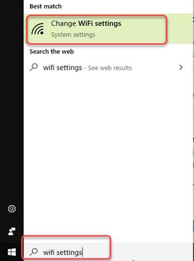 Windows 10 Search Dashboard