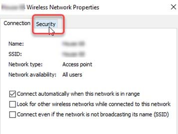 Wireless networking features