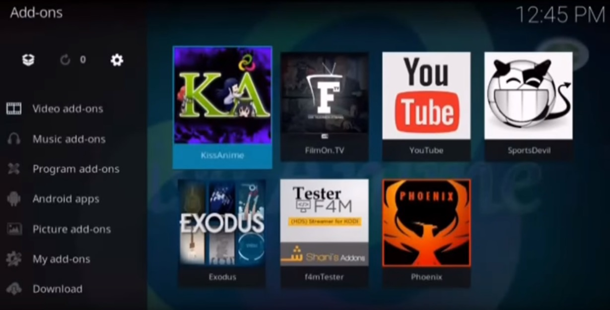 How To Install and Use the KissAnime Kodi Addon