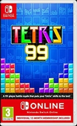 Best multiplayer games for kids Nintendo Switch - Tetris 99 + NSO