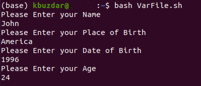 Bash How to Write a Variable to a File – Linux Hint