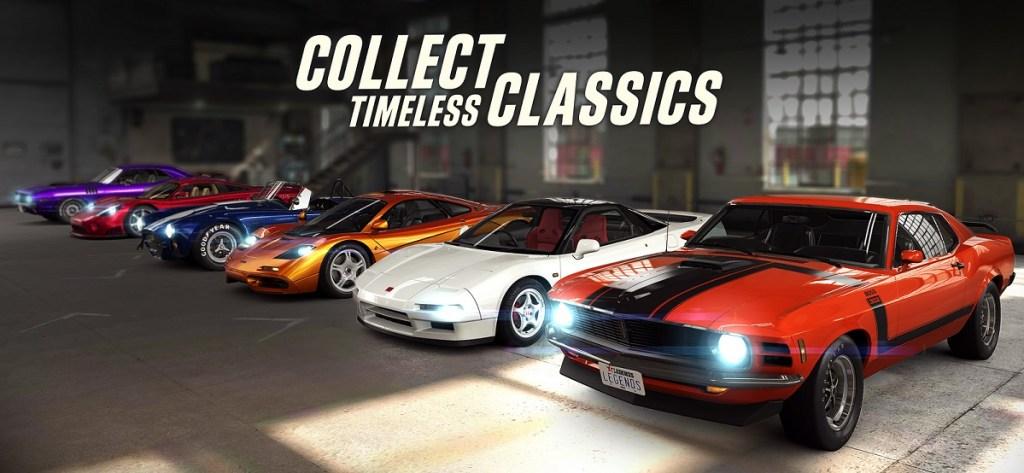 Legend guide - CSR race 2