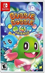 Multiplayer games for kids Nintendo Switch - Bubble Bubble 4 Friends