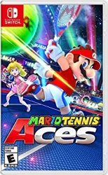 Nintendo Switch Multiplayer games for kids - Tennis Aces Mario