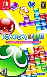 The best multiplayer games with Nintendo Switch - Puyo Puyo Tetris