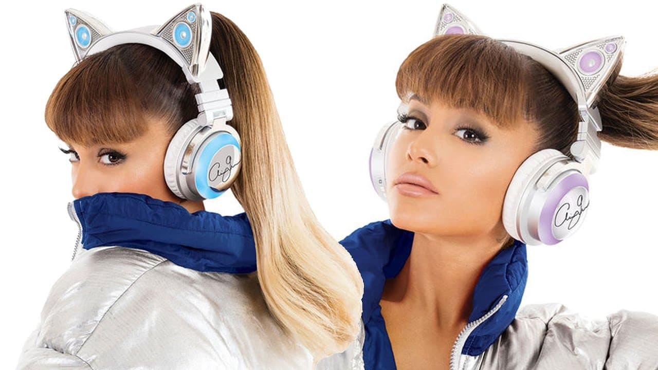 Ariana Grande Cat Headphones Review [Brookstone Limited Edition]