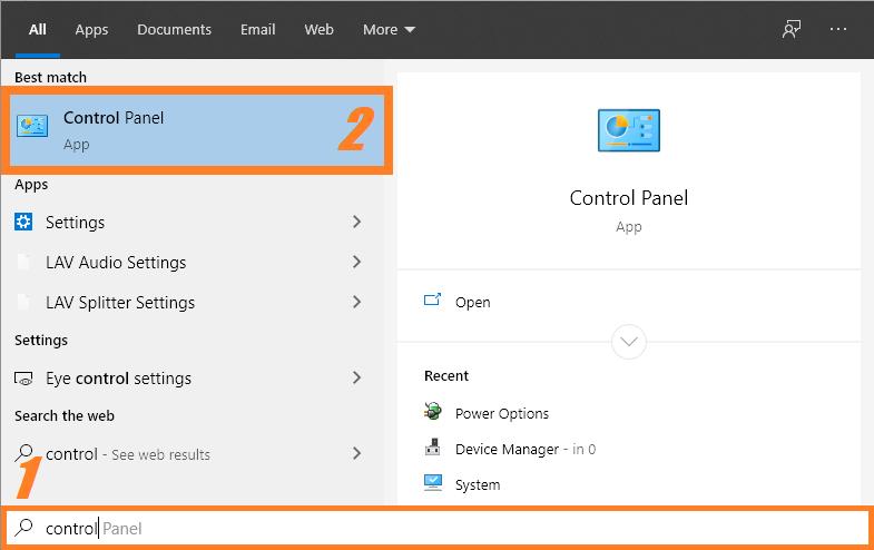 004010E - Control panel -- Windows Wally