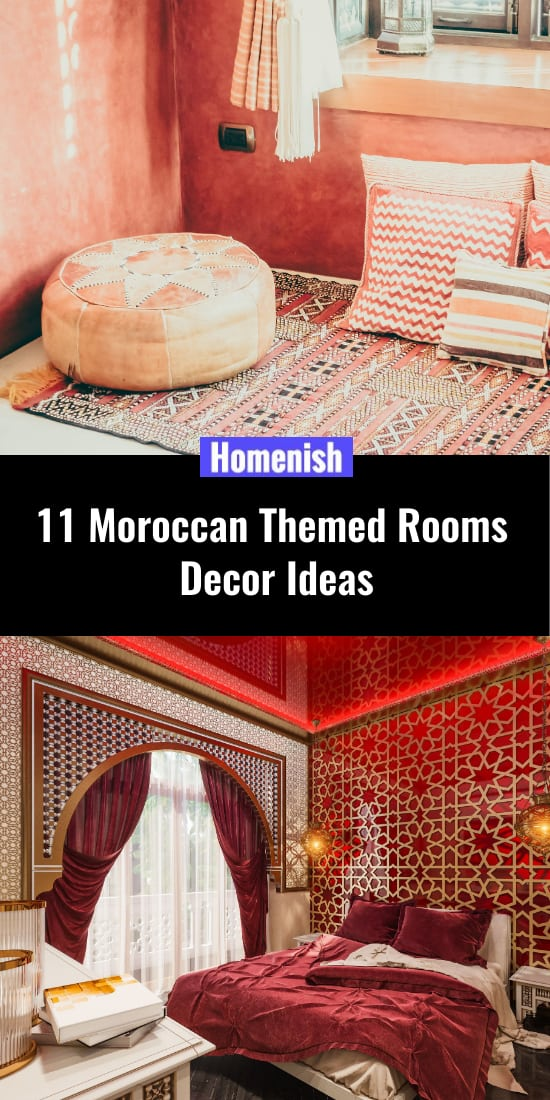 11 decorative ideas for the Moroccan theme room